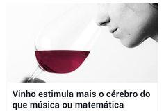 """#Vinho ♡👍👌✌🍷😍 Nossa Mente Fervilha com Boas Idéias Frente a Notícias como essa! 💡🍷💡💡💡🍷 Cientistas da Faculdade de Yale, EUA, dizem que Bebida🍷é Fortemente Dependente das Memórias e Emoções. O ☆Vinho♡🍷Desperta Reações Tanto nas Partes Sensoriais como Emocionais. """"Beber Vinho🍷Estimula o Cérebro"""" 🍷 #Degustando com #Raro #Sabor #Prazer & #Conhecimento 🍷"""