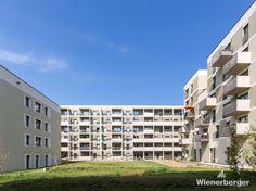Spatenstich im Stadteil Seestadt Vienna, Multi Story Building, City, Haus