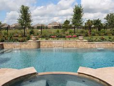 Contemporary Swimming Pools Design 146 — Custom Outdoors