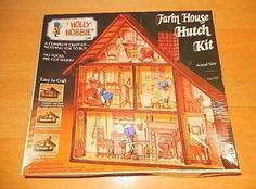 Vintage 1974 Holly Hobbie Farm House Hutch Kit Unassembled | eBay