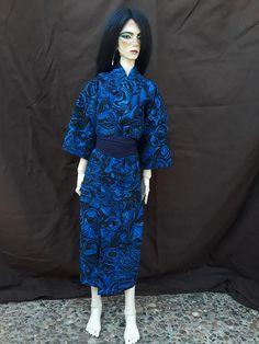 New 1//3 BOY LUTSDELF SD BJD Doll Clothes Fashion Light blue Hooded coat//Jacket
