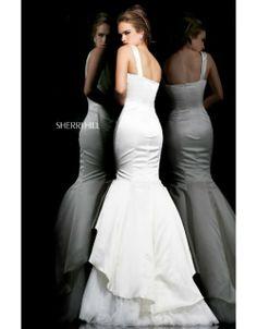 Ivory Sweetheart Mermaid 21275 Prom Dress Sherri HillOutlet