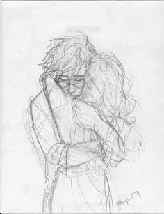 Drawing potlood harry potter 61 Ideas for 2019 Fanart Harry Potter, Arte Do Harry Potter, Cute Couple Drawings, Cute Drawings, Hugging Drawing, Burdge Bug, Harry And Ginny, Fantastic Beasts, Art Sketches