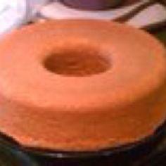 Cream cheese pound cake..... Yummy!