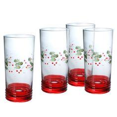 Set of 4 Cooler Glasses