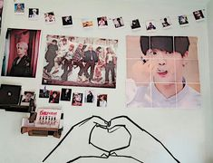 Image final result for bts room decor MaHomeDesign decor Army Bedroom, Dream Bedroom, Army Decor, Kpop Merch, Second Hand Stores, Decorate Your Room, Bedroom Decor, Decor Room, Wall Decor