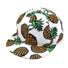 1PC Pineapple Snapback Bboy Hat Adjustable Baseball Cap Hip-hop Hat Unisex