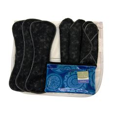 Heavy Flow Kit Plus -  Think cloth pads can't handle heavy flow? Think again! This kit includes a selection of our favorite pads for those of us with a heavier cycle that need more coverage, offered by the Day Pads Plus. The Heavy Flow Kit is also a great choice for postpartum or for plus-size women.  The Heavy Flow Kit Plus includes:    3 Day Pads Plus    3 Night Pads    1 GladRags Carry Bag    1 Mesh Laundry Bag