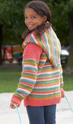 19 best crochet clothing for children images on pinterest yarns crochet hooded sweater free pattern this was my 1st attempt at a larger sweater fandeluxe Image collections
