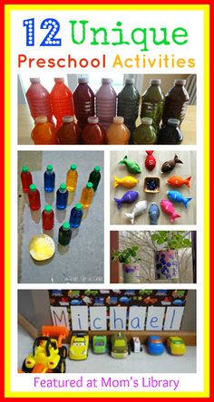 Give a like for awesome preschool activity ideas! :)