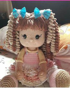 – Crochet – # Crochet – Amigurumi World # Crochet # … Crochet Dolls Free Patterns, Crochet Doll Pattern, Amigurumi Patterns, Amigurumi Doll, Doll Patterns, Easter Toys, Knitted Dolls, Stuffed Toys Patterns, Crochet Projects