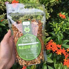 "40 Likes, 1 Comments - Healthy Monsters Granola (@healthymonsters) on Instagram: ""Have you had your Raisin Nut Crunch Granola dose for today? If not, please grab them at our…"""