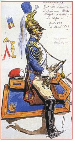Best Uniform - Page 198 - Armchair General and HistoryNet  The Best Forums in History Military Art, Military History, Best Uniforms, Military Uniforms, Napoleon French, Total War, French Army, Dragons, Napoleonic Wars