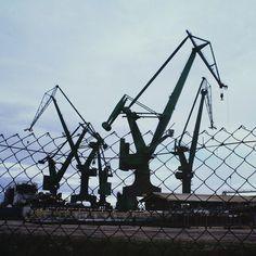 #Gdansk #ilovegdn #cranes #crane #stocznia #architecture