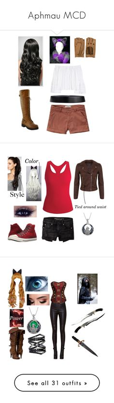 """Aphmau MCD"" by thealpharaven1900 ❤ liked on Polyvore featuring Carolina Herrera, Abercrombie & Fitch, Jil Sander, Zanellato, Converse, American Eagle Outfitters, Black Diamond, Carolina Glamour Collection, Miss Selfridge and Allurez"
