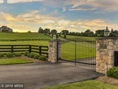"""FOR SALE PROPERTY at 2660 HESS RD MONKTON, MD 21111   Price: $1,750,000  Description Private and gated High Covert Monkton Estate! This elegant equestrians dream overlooks 39+ beautiful landscaped acres w/stream. The stone and stucco home features an open floor plan with over 4100 finished sq ft*2 story great room*Gourmet kitchen and list goes on*Barn Features:6 stalls*wash area*tack room w/ A/C*hay loft*Automatic waterers*Riding Arena*Pole Barn 60X38 w/ electric & pellet stove*Call"