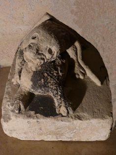 Antique for sale Medieval sculpture gothic dragon corbel or bracket Animal sculpture Sculpture Fine arts architecture