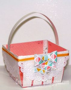 Stampin' Up! Berry Basket Bigz Die - Create With Christy - Christy Fulk, Stampin' Up! Demo