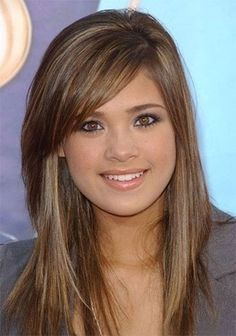 Long Layered Hairstyles for Round Faces  Cute Hairstyles For 2017