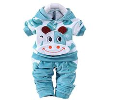 Baby Boys/Girls clothing set for winter fleece clothes set See more style➡ https://www.babies-4you.com/products/velvet-cow-hoodie-pant-twinset-long-sleeve Tag Dad, Uncles or Grandparents to get one for your sweet baby Order Now   https://www.babies-4you.com/collections/girls-nb-1y #KidsOMG #cute #babies #babyfashion