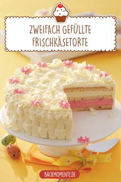 Pie Cake, No Bake Cake, German Cake, Naked Cakes, Easy Baking Recipes, Birthday Cake Decorating, Homemade Ice, Dessert Recipes, Snack Recipes