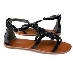 B.F.T. by Barefoot Tess 'Avalon' Sandal (Black) « ShoeAdd.com – More Shoes For You Every Day