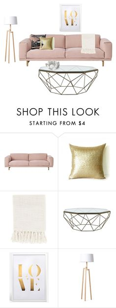 """teas lving room"" by olivia-weissman on Polyvore featuring interior, interiors, interior design, home, home decor, interior decorating, Muuto, Surya, Jayson Home and Rove Concepts"
