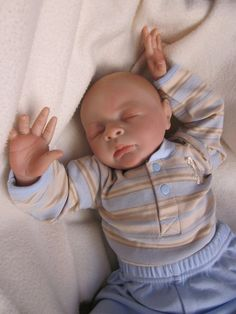 Reborn Baby Boy: Ben sculpt by Jessica Schenk for BountifulBaby