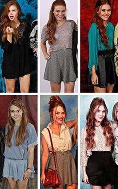Holland Roden + Teen Wolf Convention Looks Mais Lydia Martin Outfits, Lydia Martin Style, Teen Wolf Fashion, Teen Wolf Outfits, Girl Fashion, Hippie Look, Lydia Martin Hairstyles, Lydia Teen Wolf, Looks Teen