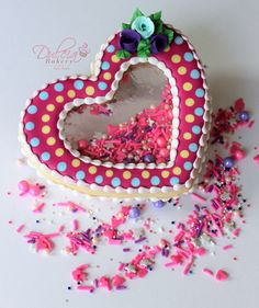 Learn how to decorate Piñata Cookies just click on the picture to watch the video
