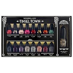 I would like this for Christmas! SEPHORA by OPI - Tinsel Town Collector's Set