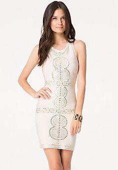Embellished Bandage Dress $139 Bebe