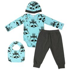 dc89180820e4b Fall Baby Boys Girls Clothes Infant Clothes Fox Baby Clothing Sets Bodysuit  + Pants + Baby