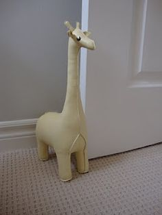 Awesome Cute Giraffe Door Stopper