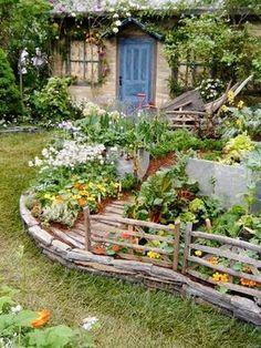 zenfrogyeah garden bed edging