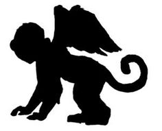 flying monkey silhouette - use a template and cut out of a thick/stiff material and use glitter to help stand out from the tree Halloween 2017, Halloween Crafts, Halloween Decorations, Office Decorations, Halloween Goodies, Halloween Signs, Halloween Shirt, Halloween Themes, Wizard Of Oz Decor