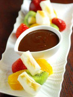 【ELLE a table】もちチョコレートフォンデュレシピ|エル・オンライン