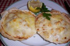 Coquilles St. Jacques in Shell   It can be served as an appetizer or a main course. @dad1337