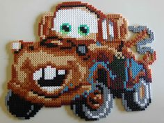 Mater - Cars hama beads (2x3 pegboards) by TWIN31