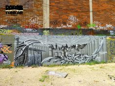 Paris Tonkar magazine // Graffiti and Street art: Graffiti art à Malakoff Zoo