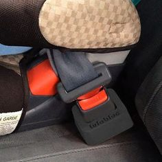 LulaBloc- Buckle Holder- Booster seat accessory