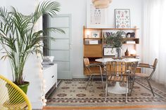 """""""We could define our style as eclectic. We love vintage pieces. It's really important to us that the furniture, decor and objects have their own history."""""""