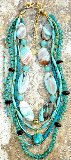 Custom Sea Glass Necklace