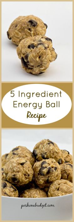 This recipe for 5 Ingredient Energy Ball looks so good!  http://thesugarfreediva.com/2017/03/5-ingredient-energy-ball-recipe/  Read more at: http://poshonabudget.com/2017/03/march-100-amazon-giveaway-event.html# Copyright ©poshonabudget.com