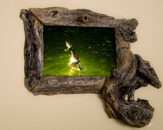 5x7 Driftwood Picture Frame on Etsy #rustic frame #5x7 driftwood #5x7 reclaimed wood
