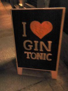 I <3 GinTonic