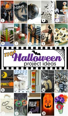 Halloween is absolutely one of my FAVORITE holidays and to celebrate I pulled together the creative minds of some of my talented blogging friends to bring you over 110 fabulous Halloween ideas! From costumes to parties, crafts and home decor, recipes and free printables, we have so many fun ideas to share! I guarantee you'll …
