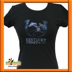660399cae Kentucky Derby 143 custom bling t-shirt. #BigFrog #Custom #Apparel #