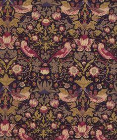 Strawberry Thief G Tana Lawn Cotton | Shop more Liberty Art Fabrics at Liberty.co.uk