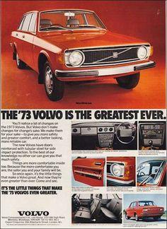 Volvo 144 ´- adv (1973)